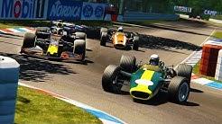 DRIVING F1 2020 CARS AT CLASSIC HOCKENHEIMRING!