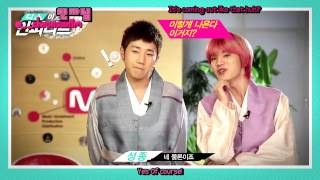 [ENG SUB] 140121 This Is INFINITE - Sunggyu Sungjong New Year Greeting ...