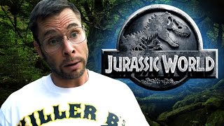 DAD REACTS TO JURASSIC WORLD