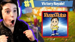 FORTNITE DUOS WITH EVANTUBE!!