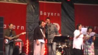 SPD Augsburg MdL Linus Förster's Hopfenstrudel auf dem Landesparteitag der SPD Bayern 2011