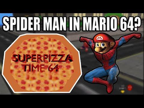 Spider Man In Super Mario 64? | Super Pizza Time 64! - YouTube