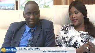 Sortie avec Amadou Sene NIANG (Porte parole Maire de Rufisque)