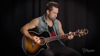 Takamine TSP138C Thinline Demo by Matt Haze