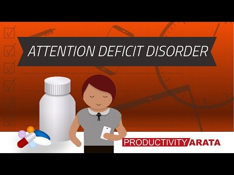 Attention deficit disorder... or just lack of focus? | Productivity Arata 04