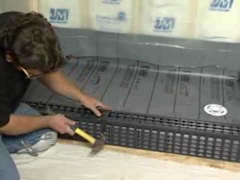 Mark e industries kirb perfect shower curb tile base for How to retile a bathroom floor