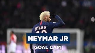 GOAL CAM | Every Angles | Neymar Jr vs As Monaco
