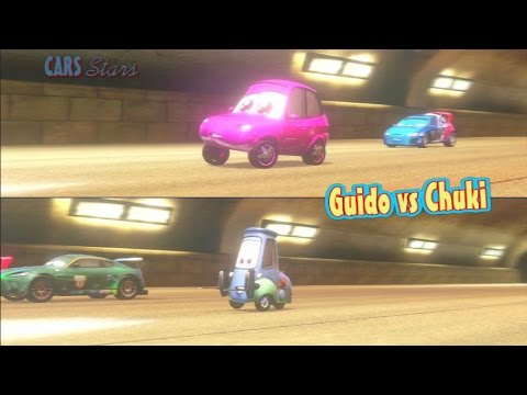 Cars 2 game play guido versus chuki splitscreen race - Watch cars 3 online free dailymotion ...