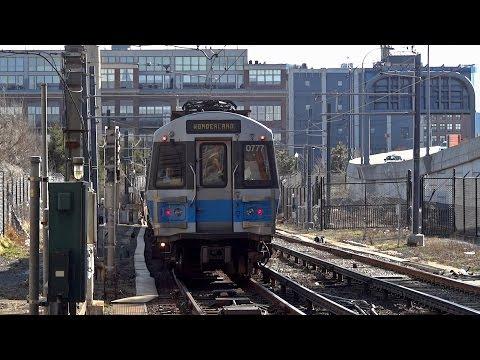 Boston subway - Airport station