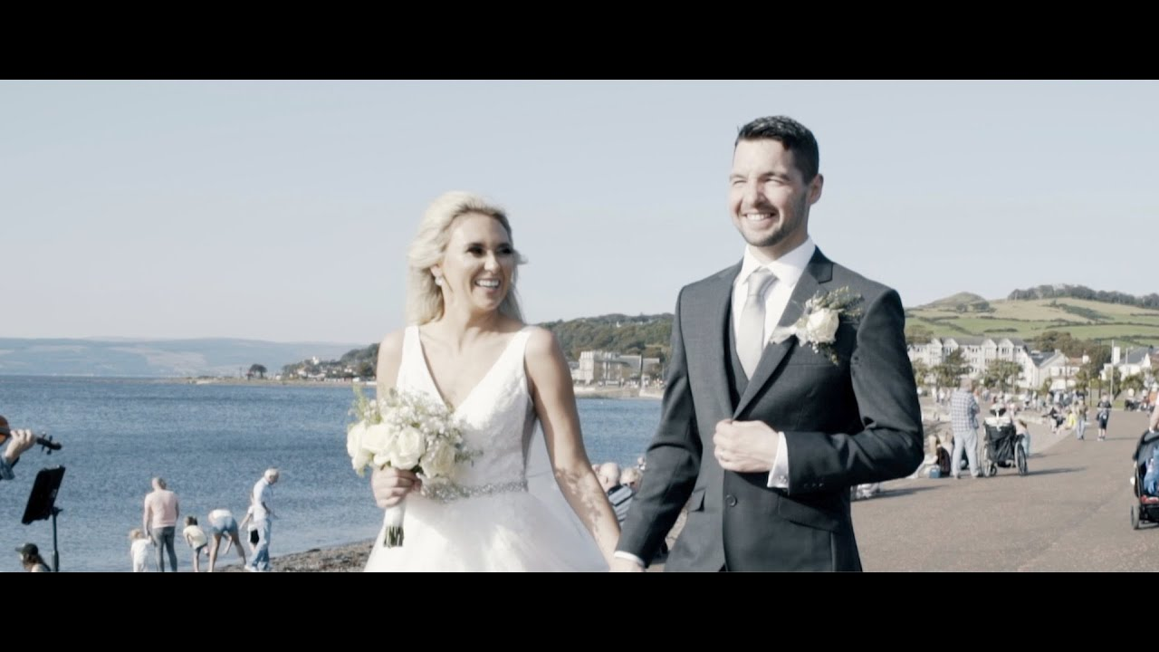 Jon + Juli || A September Seaside Wedding In The Sun || The Brisbane Hotel || Largs