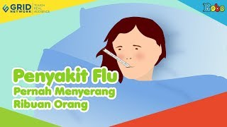 Penyakit Flu - Pernah Menyerang Ribuan Orang Karen