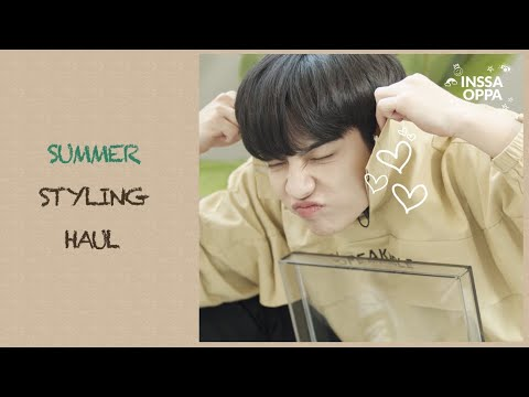 (With Sub)👕👖Summer unisex weekly fashion haul review👦🏻👱🏻♀