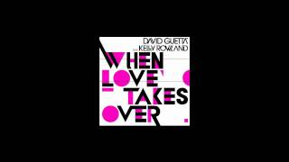 David Guetta ft Kelly Rowland - When love takes over (Original instrumental)