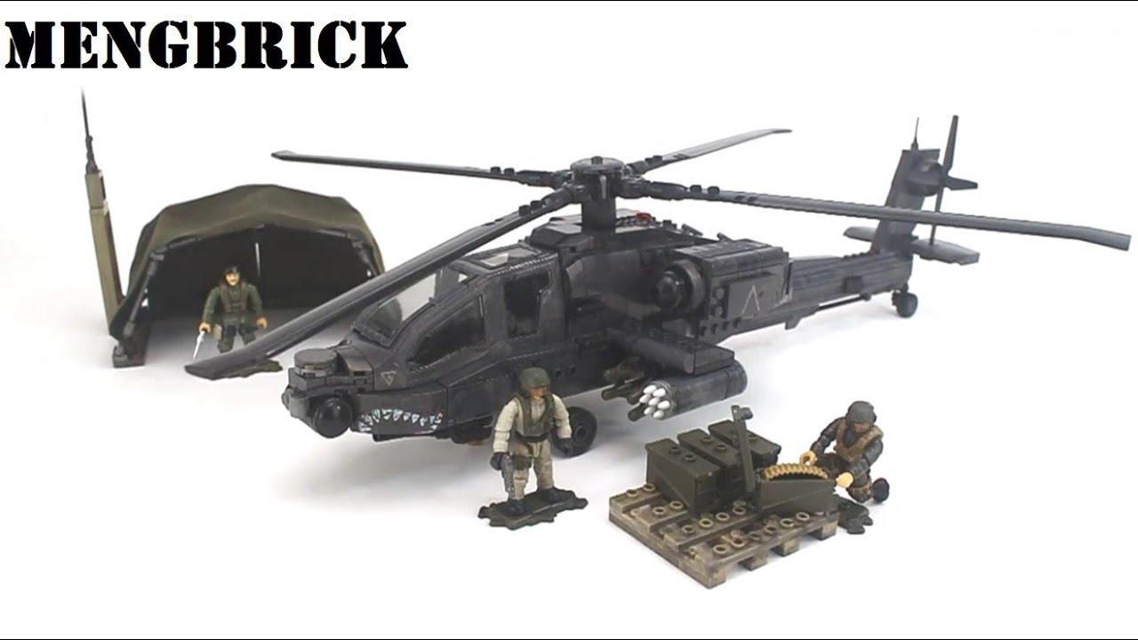 Lego Mega Bloks Call Of Duty Strike Fighter Av8b Mengbrick Build Youtube