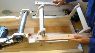 Repeat youtube video Homemade jointer build