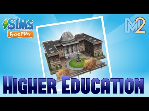Sims FreePlay - Higher Education Quest (Let
