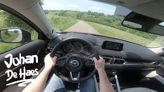 Mazda CX-5 2018 2.5L Skyactiv-G 194hp POV Test drive