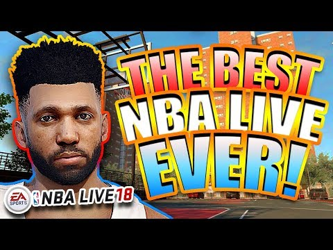 IS NBA LIVE FINALLY READY TO MAKE A COMEBACK?!?! - [NBA LIVE 18 - RANDOMPLAYS]