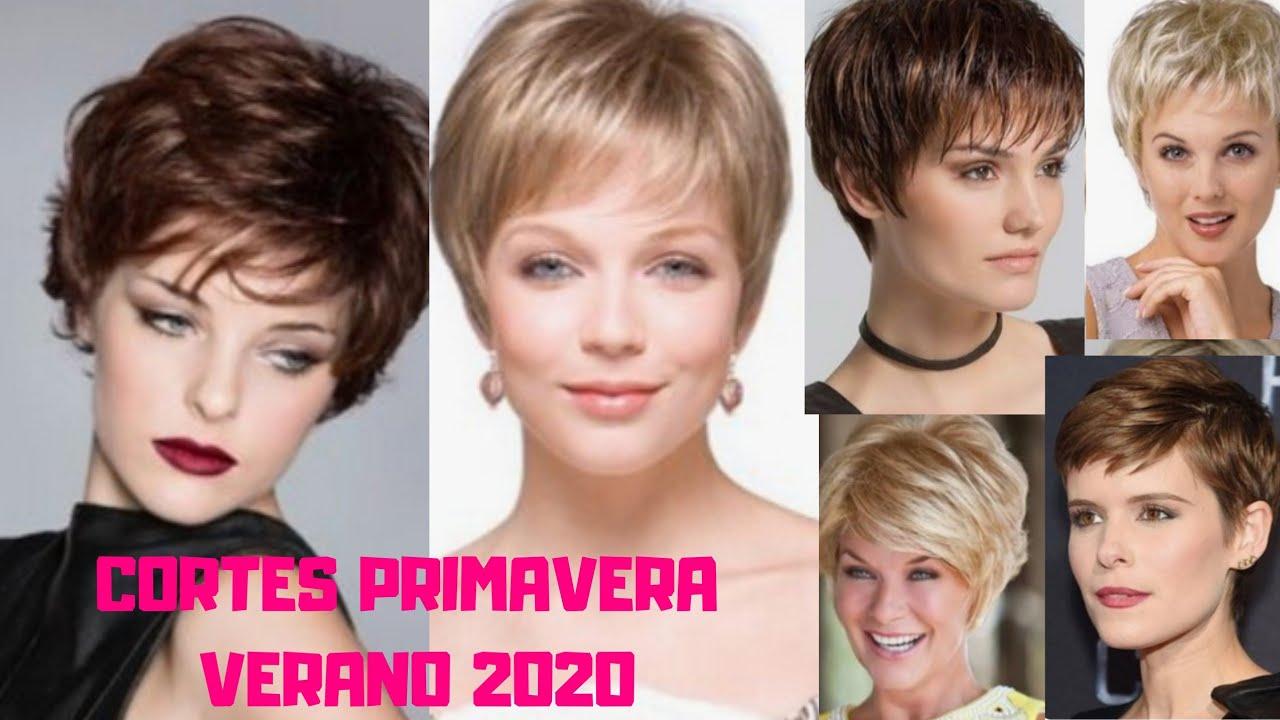 Cortes De Pelo 2020 Primavera Verano Mujer 20 30 40 70 Youtube