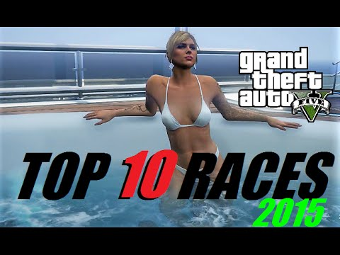 TOP 10 BEST GTA 5 RACES I LIKED FOR 2015 - OPEN LOBBIES - LIVE EVENT - PS4 - HAPPY NEW YEAR!