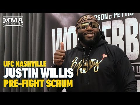 UFC Nashville: Justin Willis Confident He Can Be A Draw Once UFC Stops Messing Around With Him