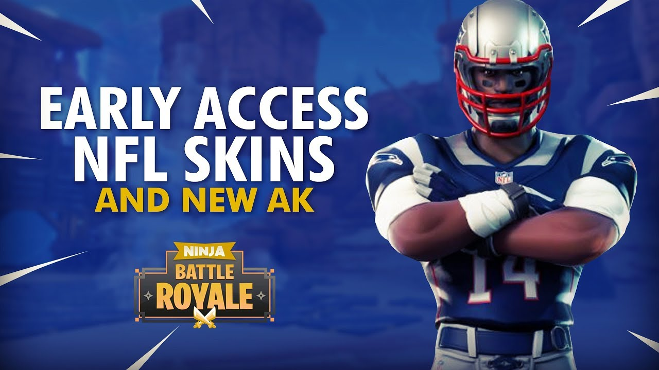 Download NFL SKINS EARLY | NEW AK?! 16 Elims