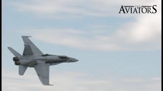 F/A-18 Hornet Take-off & Fly-by