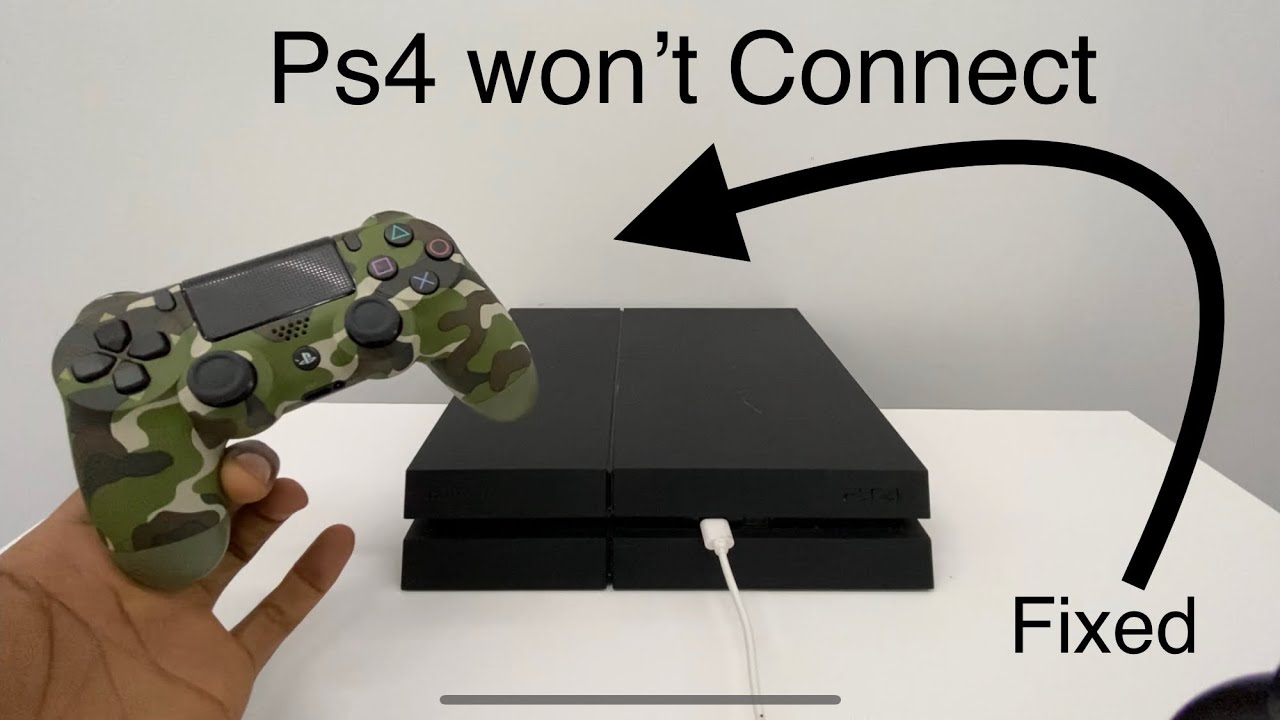 My Ps4 Controller Won T Connect No Detecting Ps4 Controller Youtube