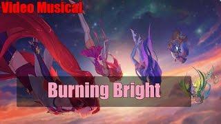 "Guardianas Estelares ""Burning Bright"" - Video Musical"