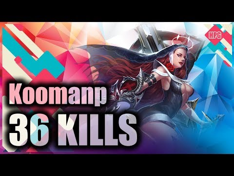 HoN Pro Witch Slayer Gameplay - Koomanp - Immortal - NM