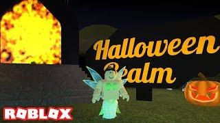 HALLOWEEN REALM IN ROBLOX (Fairies & Mermaids Winx High School)