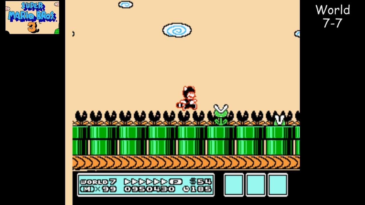 7 World Mario Super Bros 3