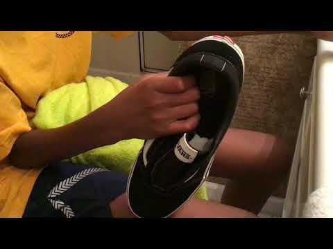 Shoe cleaning (Vans)