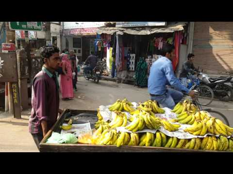 Varanasi India - Raja makes Kachori and Jalebi on 'the corner'