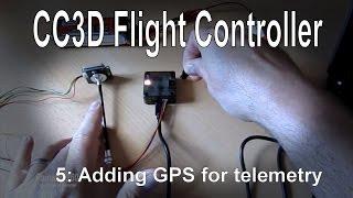 (5/10) контролер cc3d рейс - додавання GPS для телеметрії