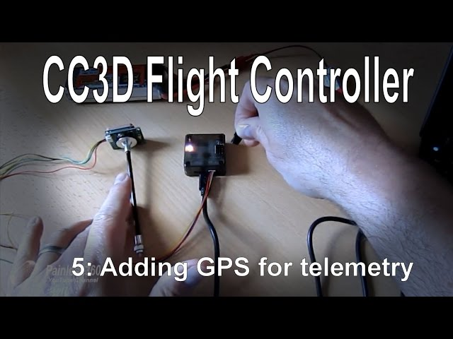(5/10) CC3D Flight Controller - Adding a GPS for Telemetry