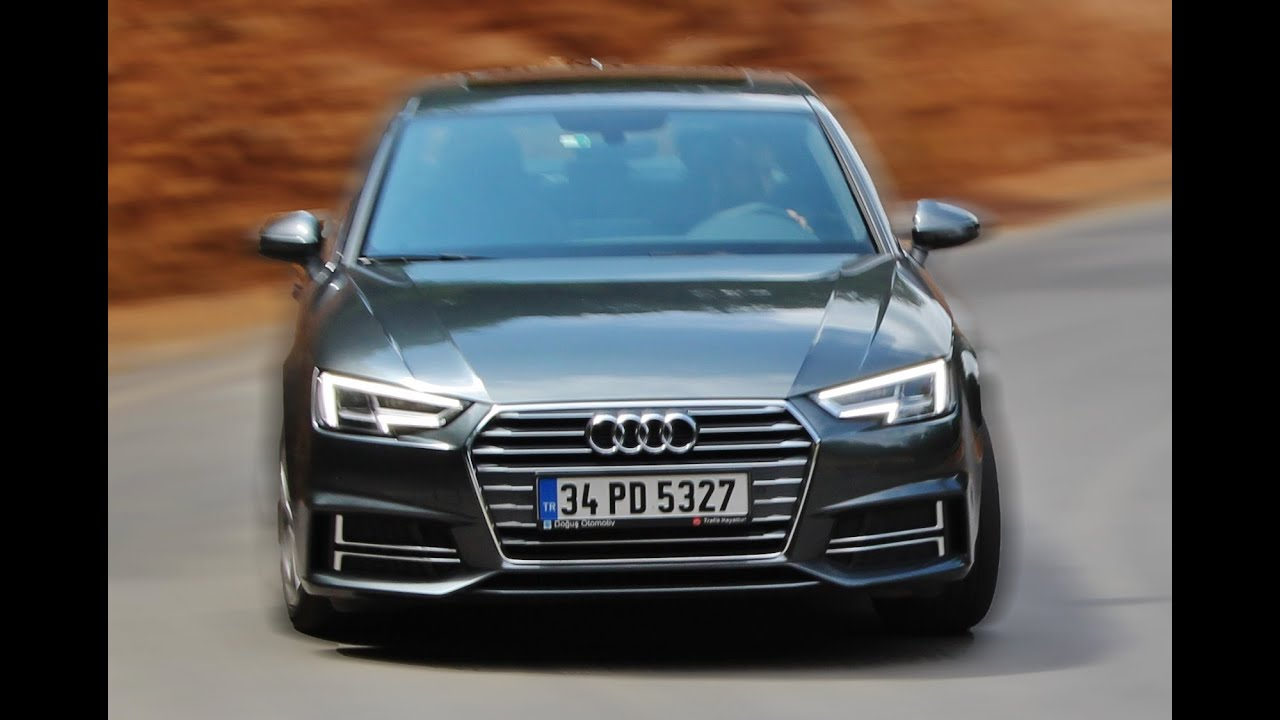 test - audi a4 - youtube