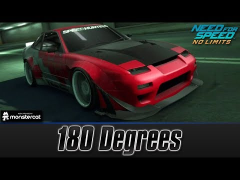 Need For Speed No Limits: Nissan 180SX Type X | 180 Degrees (COMPLETE Car Series)