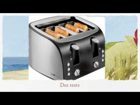 comparatif de grille-pains : paingrille - youtube
