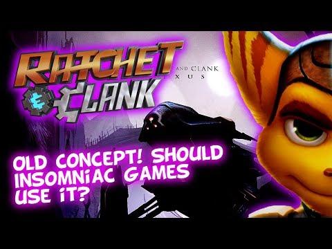Ratchet & Clank NEXUS? Old Concept - Orvus Lives!