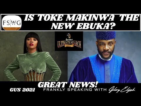 Download GULDER ULTIMATE SEARCH 2021: TOKE MAKINWA UNVEILED AS THE NEW ANCHOR   GUS 2021   GLORY ELIJAH, FSWG