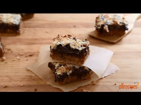 How To Make Magic Cookie Bars Gluten Free Cookies Allrecipes Com