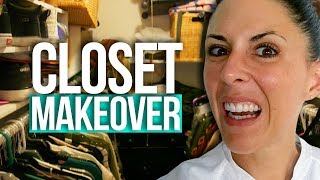Joslyns Mind-Blowing Closet MAKEOVER!! (Beauty Break)