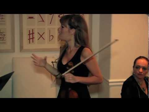 Nicola Benedetti performs for Education Through Music-LA