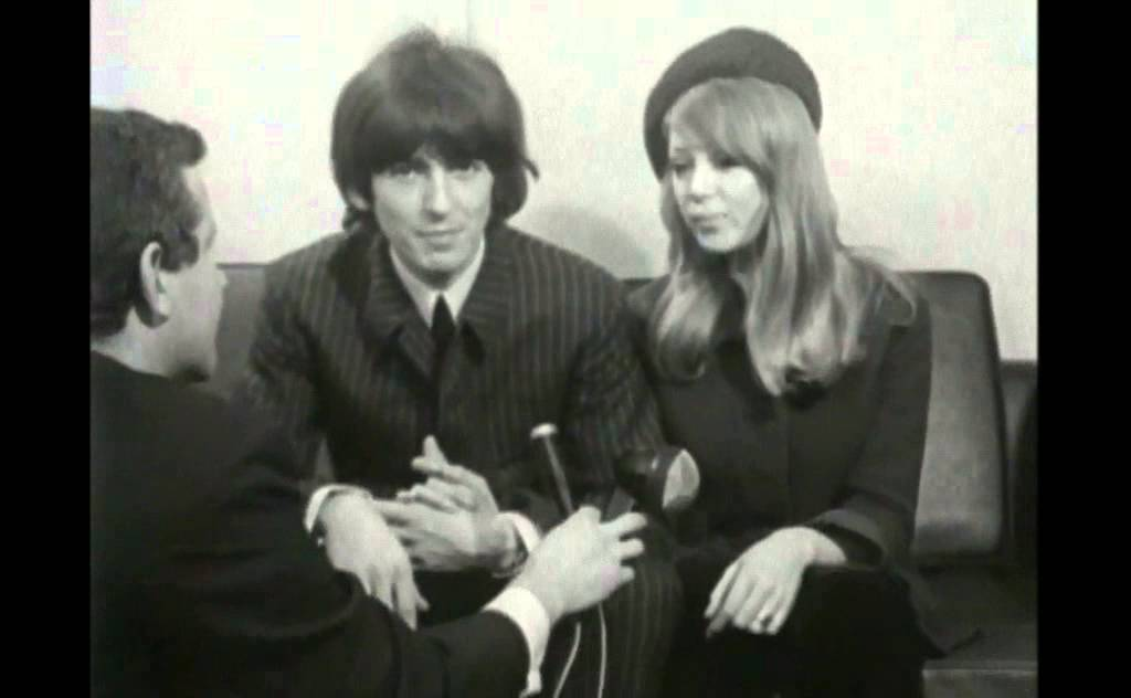 George Harrison And Pattie Boyd Just Married HQ