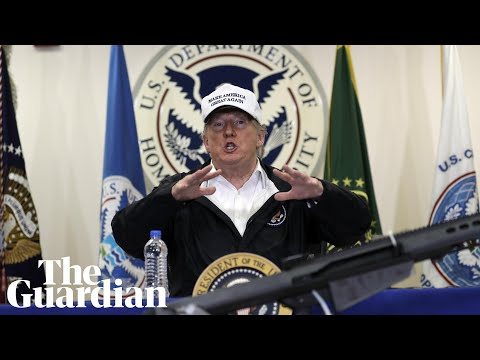 Trump visits border in Texas – watch live