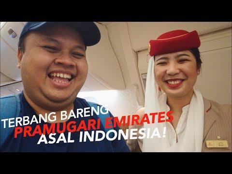 EMIRATES Boeing 777-300ER Jakarta Ke Dubai EK 359 | Seru & Menyenangkan!