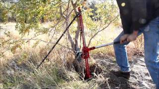"Rip a Tree or Stump out of the Ground with a Hi-Lift  or Farm Jack and ""Safe Jack"" Accessories"