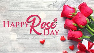 Happy Rose Day 2020: Wishes,whatsapp Messages,greetings,images,romantic Quotes  happy Valentines Day