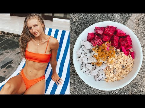 WHAT I ATE TODAY IN BALI + My Skin Issues...
